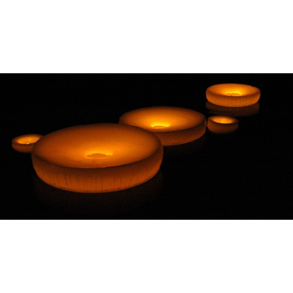 Floating Flameless Led Pool Candles 6 Diameter Quany 48 Or More Call
