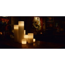 "Flameless LED Candles / Timer or Remote Control options (10"" diameter by 15"" or 18"" Tall)(Quantity discount 6 or more call)"