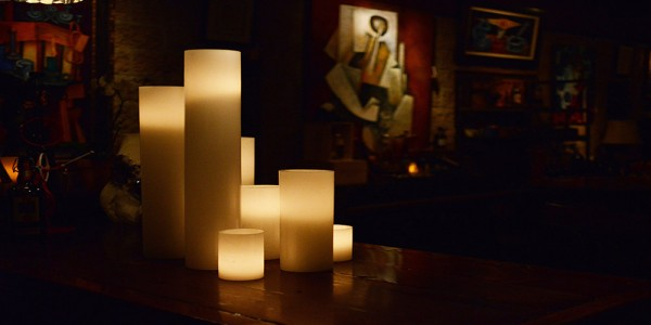 "Flameless LED Candles / Timer or Remote Control options (7"" Diameter by 12"" or 15"" or 18"" Tall)(Bulk Discounts)"