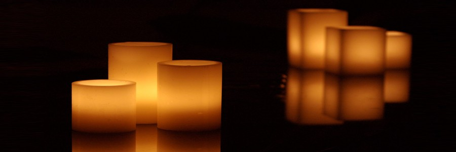 "Electric Hardwired Low Voltage LED Candles System (6 to 11 set)(5.5"" Diameter Wax Luminaries Included)"