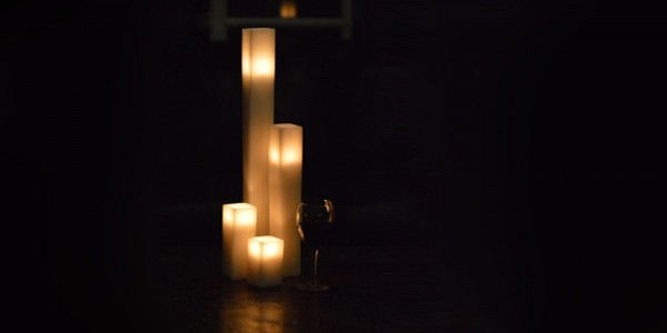 "Hollow Candles Wax Luminaries (2.5"" wide by 7"" and/or 8.5"" tall) (Bulk Discounts)"