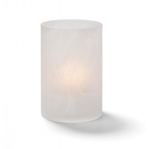 Glass Candle Holder - Crystal Color