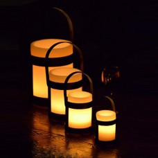 "Designer Iron Candle Holders & Candles -  Iron Lantern 6"" Diameter (Quantity discount 12 or more call)"