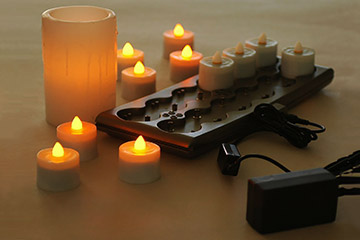 RECHARGEABLE  CANDLES / Remote Controle option