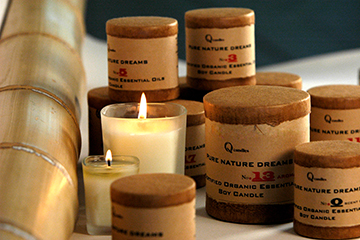Beeswax & Organic Candles