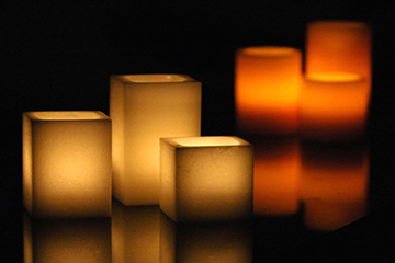 Wax Luminaries
