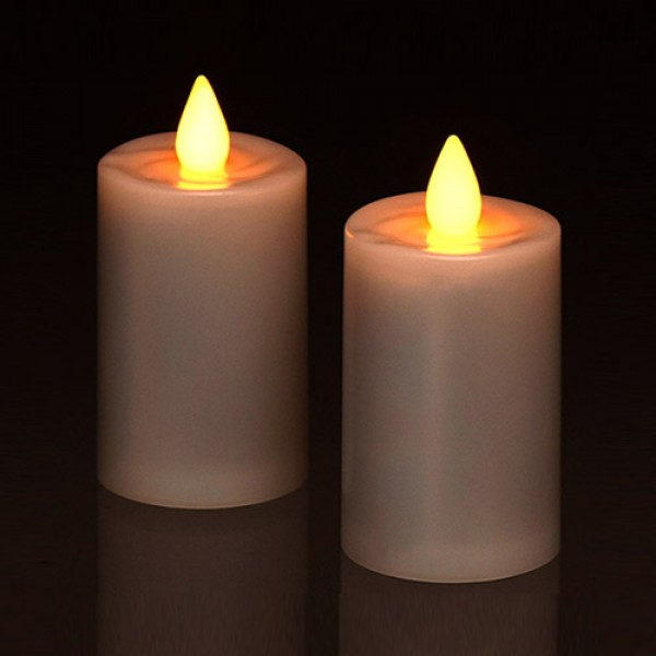 Ultra Bright 450 Hour battery life LED Votives with 5 hour timer