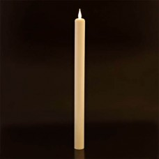 "Taper Candle 12"" and 17"" Ultra Bright Realistic Flickering LED Press on Flame Switch (Bulk Discounts)"