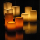 "Flameless LED Candles / Timer or Remote Control Options (2.5"" diameter by 7"" or 8.5"" tall) (Bulk Discounts)"