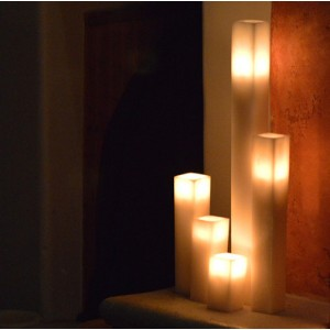 "Flameless LED Candles / Timer or Remote Control options (2"" wide by 10"" or 12"" tall)(Bulk Discounts)"