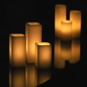 "Flameless LED Candles / Timer or Remote Control options (2.5"" wide by 7"" or 8.5"" tall) (Bulk Discounts)"