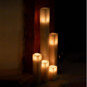 "Flameless LED Candles / Timer or Remote Control options (2.5"" wide by 10"" or 12"" tall)(Quantity discount 48 or more call)"