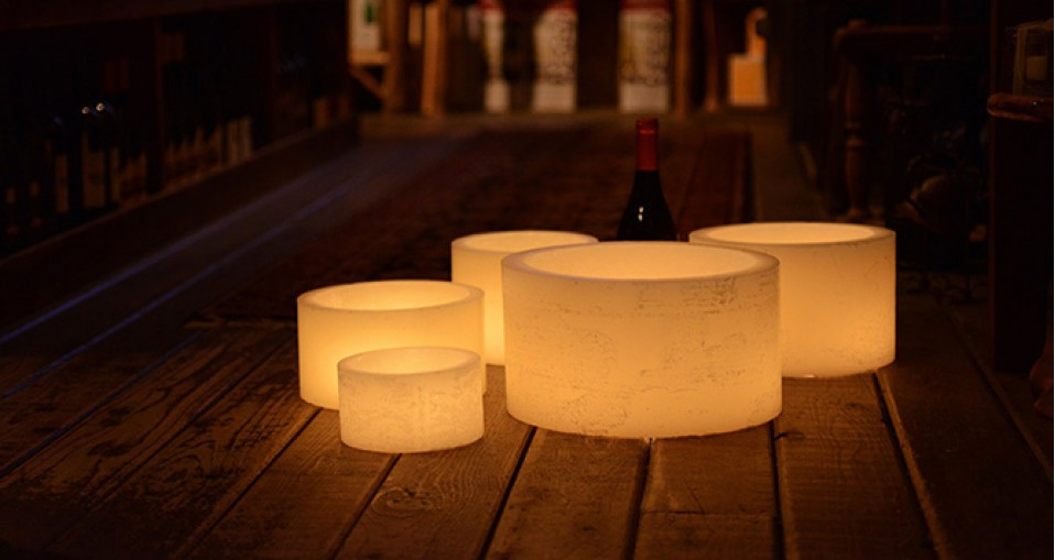 Hollow Candles Wax Luminaries