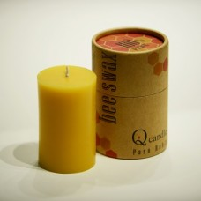 100% Pure USA Beeswax, Handmade in the USA. M.