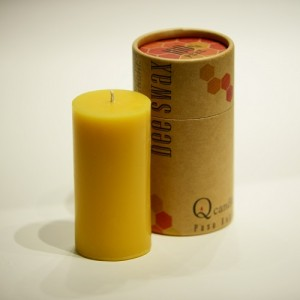 100% Pure USA Beeswax, Handmade in the USA. L.