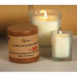 Organic Essential Oil Soy Candles - Energizing Tea