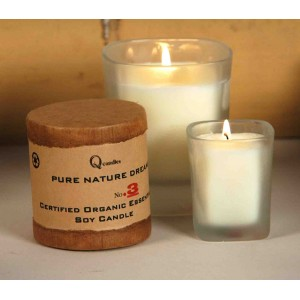 Organic Essential Oil Soy Candles - Tuscan Garden