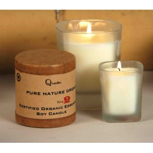 Organic Essential Oil Soy Candles - Sparkling Ginger