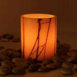 "Flameless LED Candles With Oriental Line Design / Timer or Remote Control options (5.5"" diameter by 4"", 5.5"", 7"" and/or 8.5"" tall)(Quantity discount 24 or more call)"