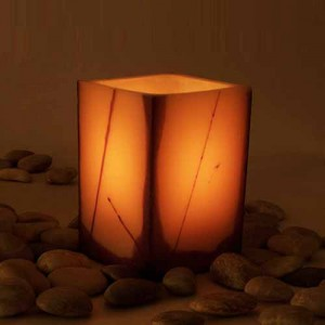 "Flameless LED Candles With Oriental Line Design / Timer or Remote Control options(4"" wide by 4"", 5.5"", 7""  and or 8.5"" tall)(Quantity discount 24 or more call)"