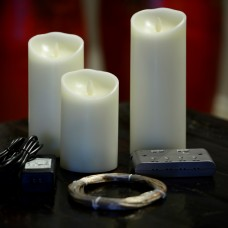 Hardwired Luminara Dancing Flame LED Candle System, Low Voltage  (3 up to 96 candles on one switch)