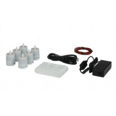 Electric Hardwired Low Voltage LED Six to Eleven Candles System (Wax Holders Not included)