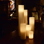 "Hollow Candles Wax Luminaries (4"" diameter by 15"", 18"" and/or 24"" Tall)(bulk Discounts)"