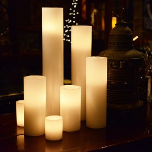"Hollow Candles Wax Luminaries (5.5"" diameter by 18"", 24"" and/or 28"" Tall)(bulk Discounts)"