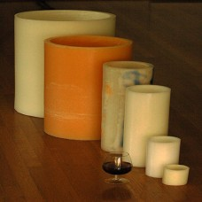 "Flameless LED Candles / Timer or Remote Control options (12"" diameter by 24"" or 36"" or 44"" tall)(Quantity discount 3 or more, call)"