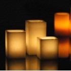 "Hollow Candles Wax Luminaries (2.5"" wide by 3"", 4"" and/or 5.5"" Tall) (Bulk Discounts)"