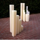 "Hollow Candles Wax Luminaries (4"" wide by 15"", 18"" and/or 24"" Tall)(quantity discount 24 or more call)"
