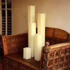 "Hollow Candles Wax Luminaries (3"" wide by 24"" and/or 28"" Tall)(quantity discount 24 or more call)"
