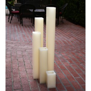 "Flameless LED Candles / Timer or Remote Control options (3"" wide by 12"" or 15"" or 18"" Tall)(Quantity discount 24 or more call)"